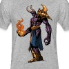Dagon - Fitted Cotton/Poly T-Shirt by Next Level