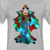 Rainbow Robes - Fitted Cotton/Poly T-Shirt by Next Level