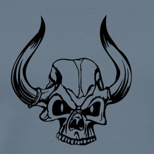 Skull Horns - Men's Premium T-Shirt