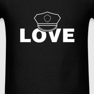 Policeman - Love - Men's T-Shirt