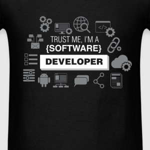 Software Developer -  Trust me I'm a Software deve - Men's T-Shirt