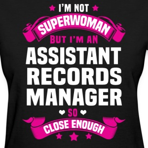Assistant Records Manager T-Shirts - Women's T-Shirt