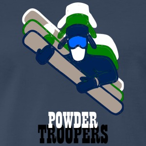 Powdertroopers - Men's Premium T-Shirt