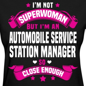 Automobile Service Station Manager T-Shirts - Women's T-Shirt