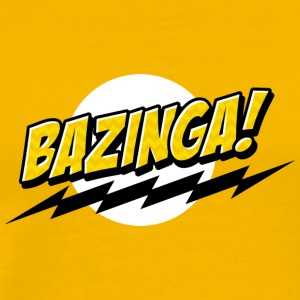 BAZINGA ! - Men's Premium T-Shirt