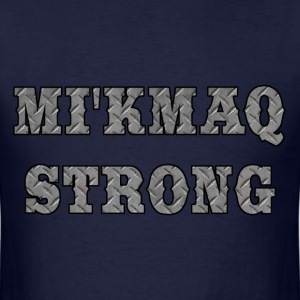 MI'KMAQ STRONG STEEL - Men's T-Shirt