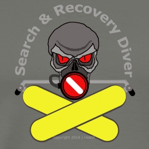 Search And Recovery Diver Yellow Bottles - Men's Premium T-Shirt