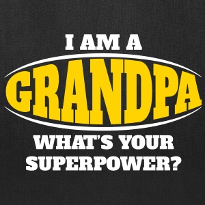 Grandpa Superpower Bags & backpacks - Tote Bag