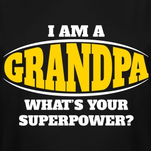 Grandpa Superpower T-Shirts - Men's Tall T-Shirt