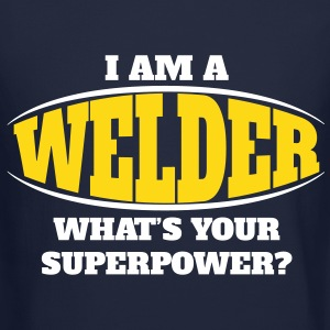Welder Superpower Long Sleeve Shirts - Crewneck Sweatshirt