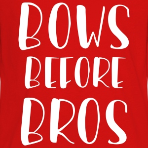 Bows Before Bros Kids' Shirts - Kids' Premium Long Sleeve T-Shirt