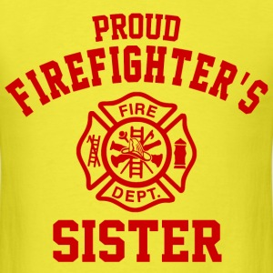 Proud Firefighters Sister T-Shirts - Men's T-Shirt