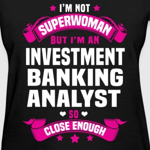 Investment Banking Analyst T-Shirts - Women's T-Shirt