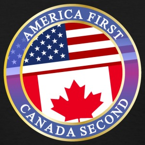 AMERICA FIRST CANADA SECOND T-Shirts - Women's T-Shirt