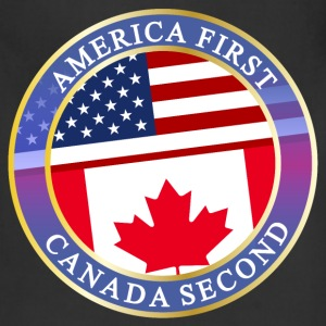 AMERICA FIRST CANADA SECOND Aprons - Adjustable Apron