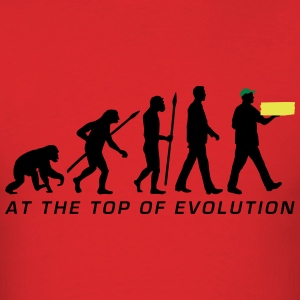 evolution_supplier_pizza_service_072016a T-Shirts - Men's T-Shirt