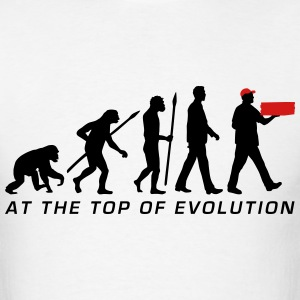 evolution_supplier_pizza_service_072016b T-Shirts - Men's T-Shirt