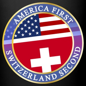 AMERICA FIRST SWITZERLAND SECOND Mugs & Drinkware - Full Color Mug