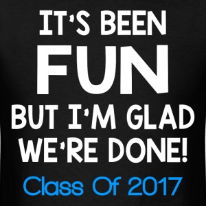 CLASS OF 2017 FUNNY T-Shirts - Men's T-Shirt