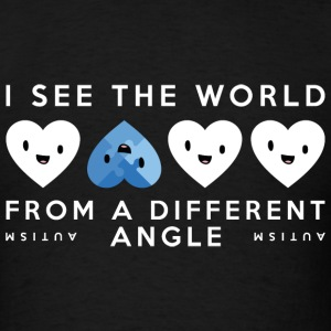Autism Different Angle - Men's T-Shirt