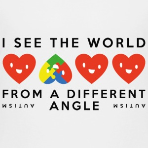 Autism Different Angle - Kids' Premium T-Shirt