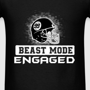 Football Player -  engaged - Men's T-Shirt