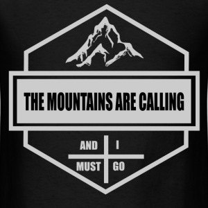 MOUNTAINS 12898298291.png T-Shirts - Men's T-Shirt