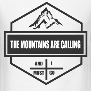 MOUNTAINS 1111.png T-Shirts - Men's T-Shirt