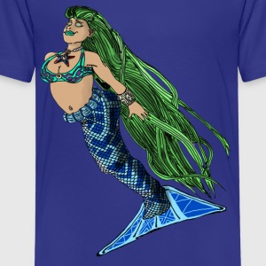 Mermaid Joy of the Sea - Kids' Premium T-Shirt