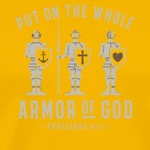 Put on the whole armor of god shirt - Men's Premium T-Shirt