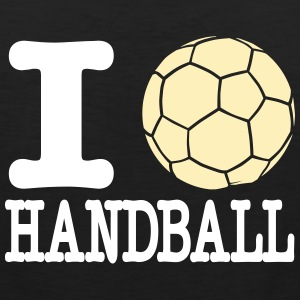 i love handball ball 2c Sportswear - Men's Premium Tank