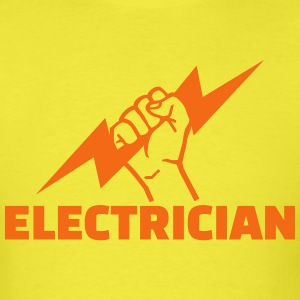 Electrician T-Shirts - Men's T-Shirt