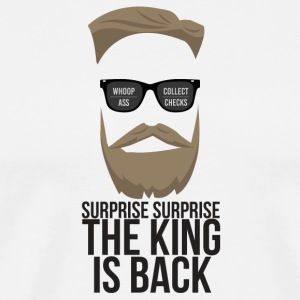The King is back! - Men's Premium T-Shirt