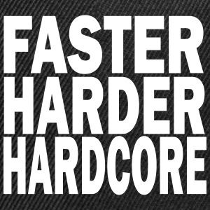 faster harder hardcore Sportswear - Snap-back Baseball Cap
