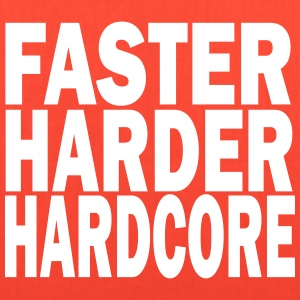 faster harder hardcore Bags & backpacks - Tote Bag