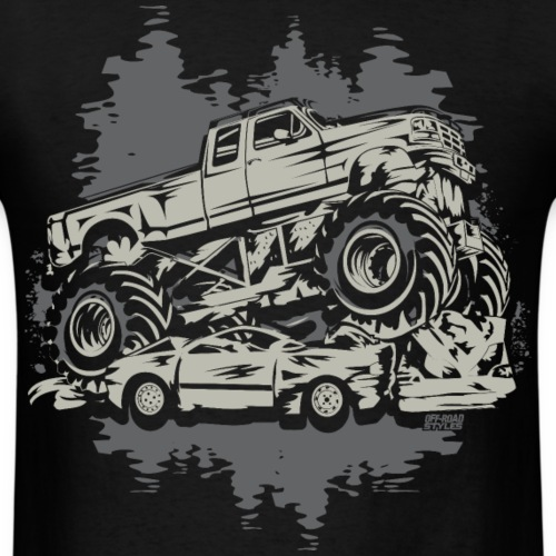 Monster Truck Grungy