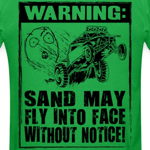 Dune Buggy Sand Warning