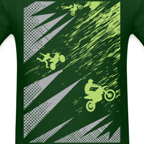 Motocross Dirt Bike Deco