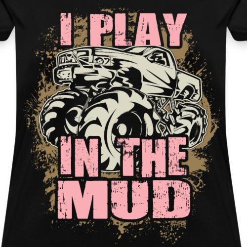 Mud Truck Mud Play