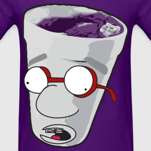 Purple Cup Nerd T-Shirts - Men's T-Shirt