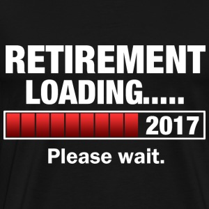 Retirement 2017 Loading T-Shirts - Men's Premium T-Shirt