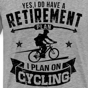 Cycling Retirement T-Shirts - Men's Premium T-Shirt