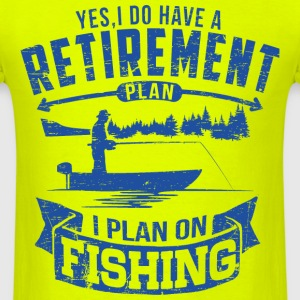 Fishing Retirement T-Shirts - Men's T-Shirt