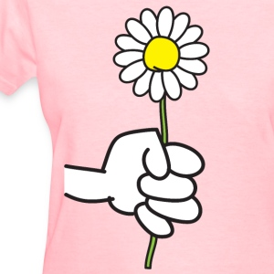Flowerfist - Women's T-Shirt