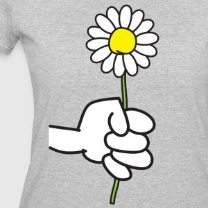 Flowerfist - Women's 50/50 T-Shirt