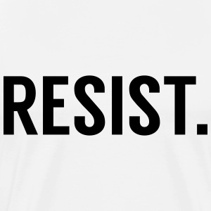 Resist Trump - Men's Premium T-Shirt