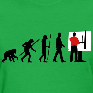 evolution_technical_draftsman_architect_ T-Shirts - Women's T-Shirt