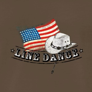 linedance01 - Men's Premium T-Shirt