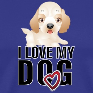 I love my dog 7 - Men's Premium T-Shirt