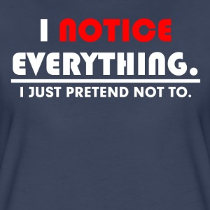 JUST PRETEND FUNNY T-Shirts - Women's Premium T-Shirt